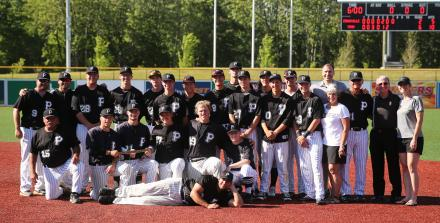 The 2017 Penn Baseball Team.