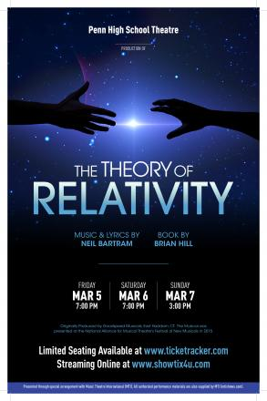 """""""The Theory of Relativity"""" to be performed March 5-7"""