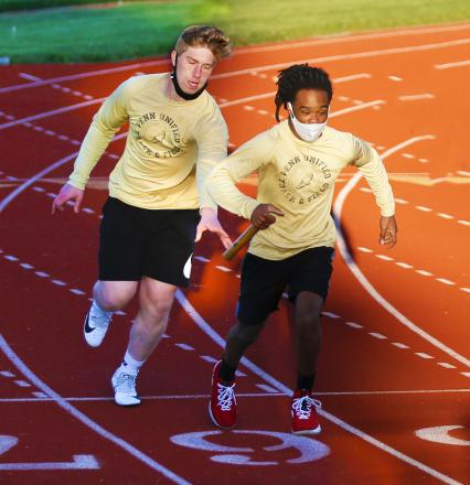 The Penn Unified Track Team competes at Goshen.