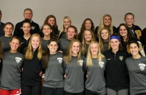 State Championship Penn Girls Soccer Team, Board Meeting Recognition, Nov. 28, 2016