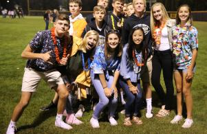 Freshmen Frenzy was held after the Penn/Merriville game August 25