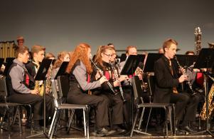Penn Symphonic Winds plays at Kaleidoscope