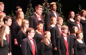 Penn students perform at Sounds of the Season