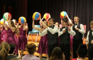 Penn High School Music Tour performs for middle school students