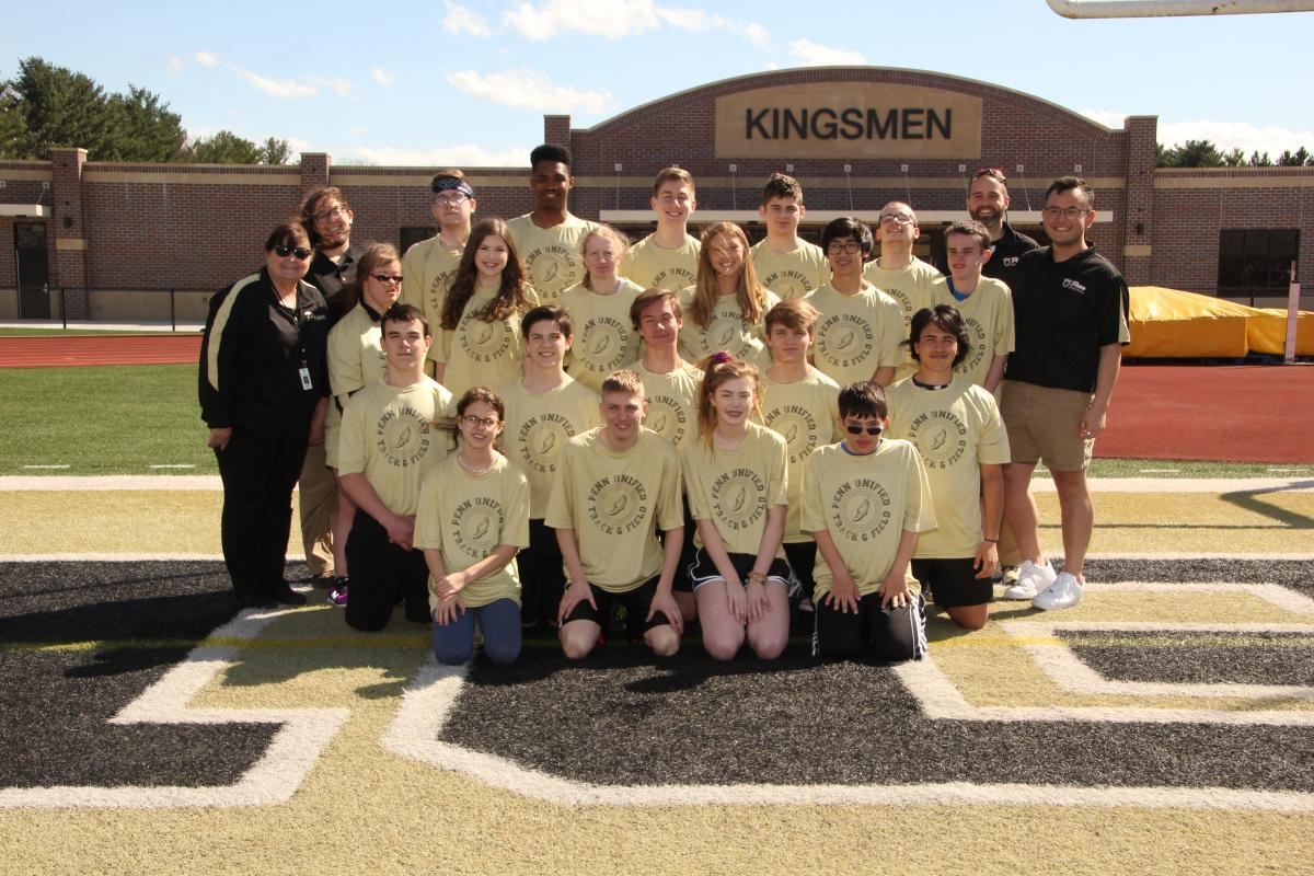 The 2019 Penn Unified Track Team.