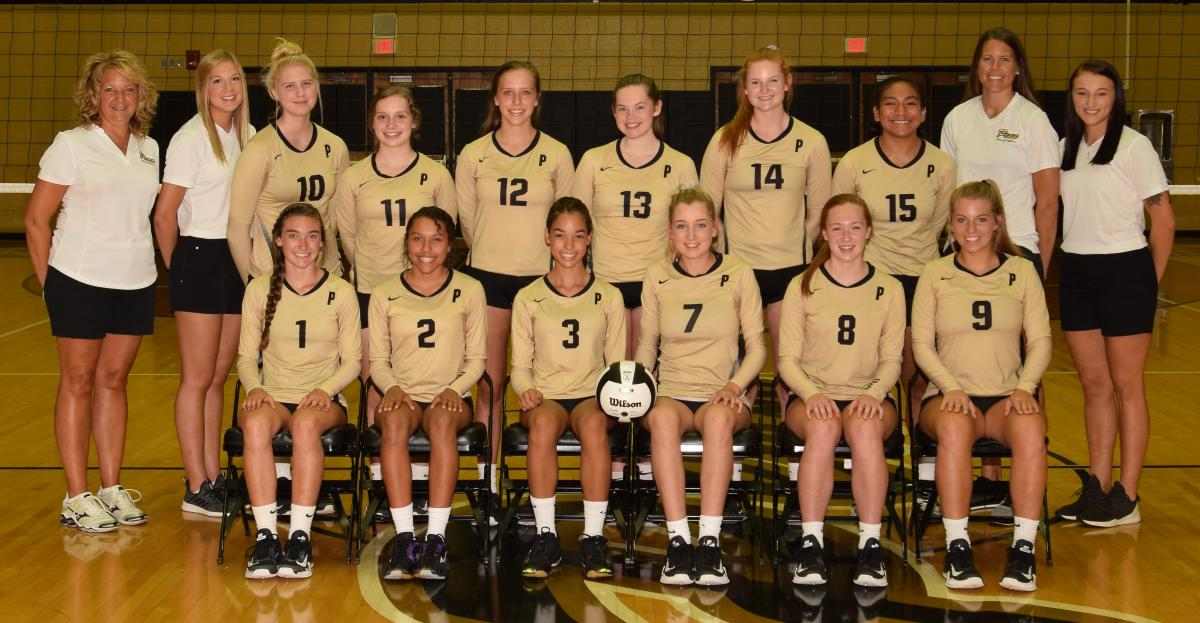 The Penn Junior Varsity Volleyball Team.